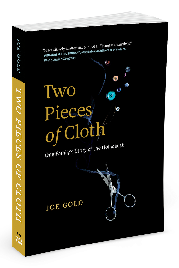 Book cover from Two Pieces of Cloth, a book from Page Two Publishing